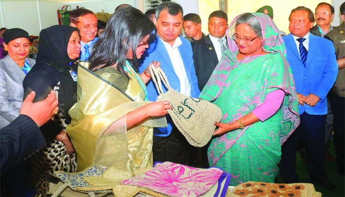 Unlock potentials of jute, jute products: Prime Minister Sheikh Hasina